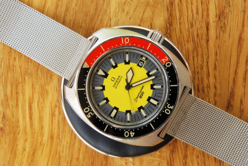 UK based watchmaker showing effect or dial and hands re-lume by James Hyman