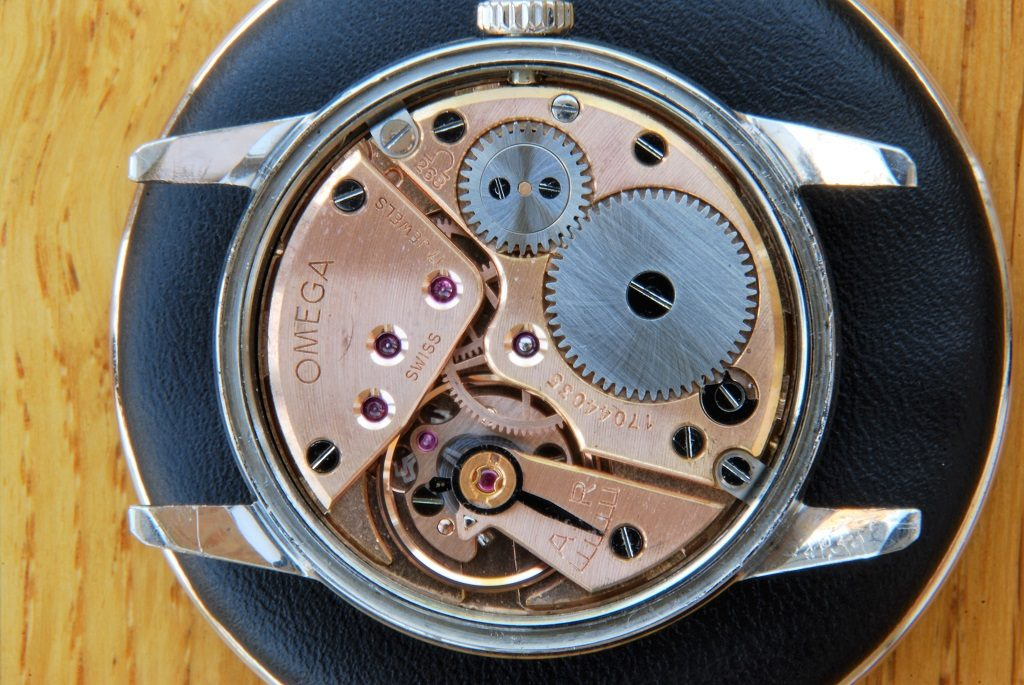 Omega Seamaster 30 repair and service - movement cased