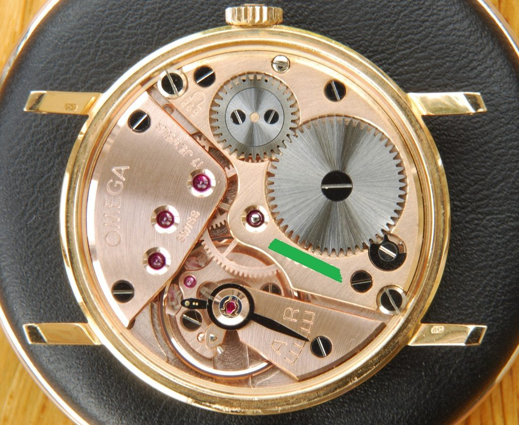 Omega century cal 269 movement